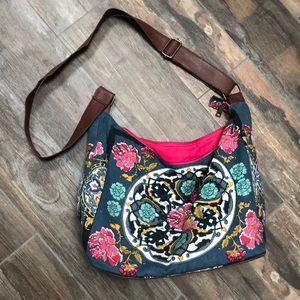 Handbags - Floral crossbody bag